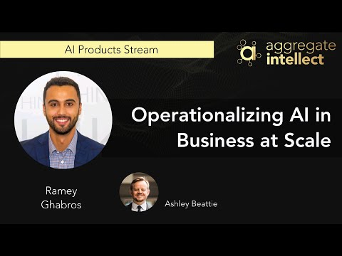 Operationalizing AI in Business at Scale