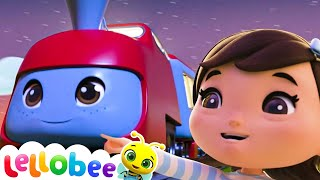 Wheels on The Train Song | Nursery Rhymes and Kids Songs | Baby Songs | Little Baby Bum
