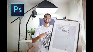 Resize And Prepare Your Photos For PRINT (Photoshop CC Tutorial)