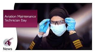 Engineering aspirations on Aviation Maintenance Technician Day | Qatar Airways