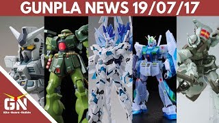Gunpla News: MG Unicorn Perfectibility, Zaku II Kai, Gouf Flight Type, RX 78 3 G3, Alex 2.0