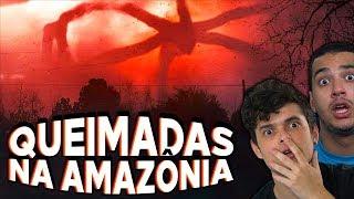 Queimadas na AMAZÔNIA e o DIA ESCURO - Entenda o CASO