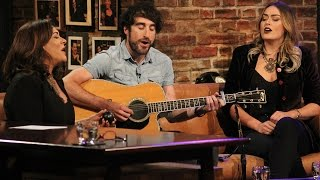 It was a family affair on last nights Late Late Show as