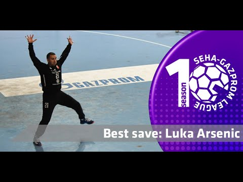 Luka Arsenic intervenes to stop the counter-attack l Best save l Vojvodina vs Motor Zaporozhye
