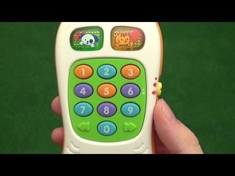 VTech Baby Kinder Fernbedienung 1 2 3 Spielzeug mit Musik Zahlen Farben TV