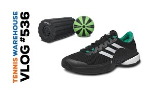 new product bf330 ba885 Head MXG racquets, adidas Barricade Boost and Vibrating Fitness Rollers -  VLOG  536 ...
