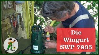 Die Wingart Schmutzwasserpumpe