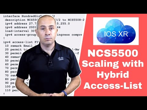 NCS5500 Hybrid ACLs