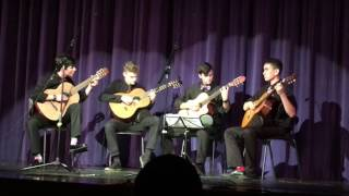 "SPX Advanced Guitar Ensemble - ""Waltz Of The Flowers"" - Christmas Concert, 12/8/2016"