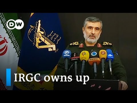 Iran owns up to plane crash: What will be the fallout? DW News