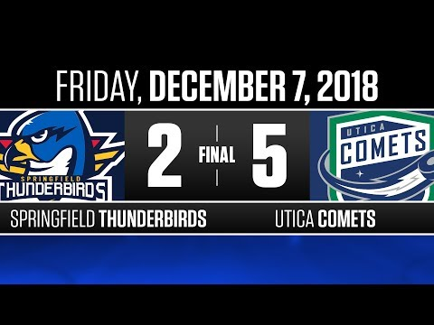 Thunderbirds vs. Comets | Dec. 7, 2018