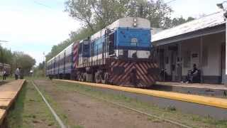 preview picture of video 'ALCO 652 llega a Las Heras (29-09-2014)'