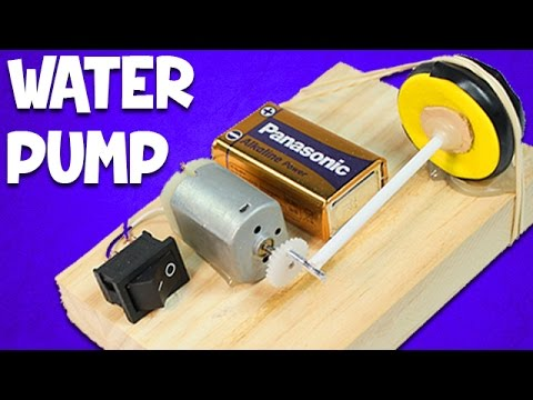 How to Make a Mini Air Pump for Home Aquarium