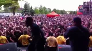 """P.O.D. """"On Fire"""". Rock on the Range"""