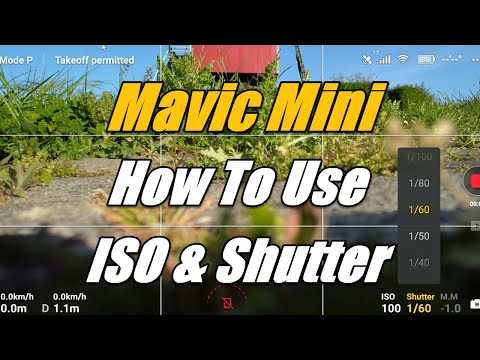 Mavic Mini Camera Settings and Polarized ND Filter Beginners Tutorial Firmware Update V500 Footage