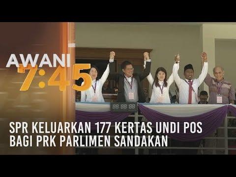 SPR keluarkan 177 kertas undi pos bagi PRK Parlimen Sandakan