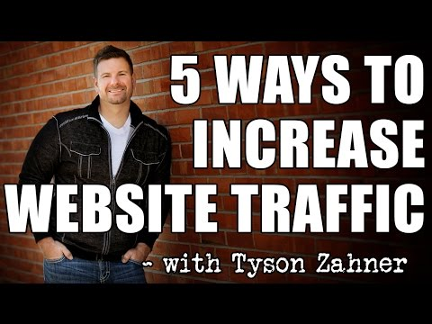 How to Increase Traffic to your Website - 5 Effective Ways to Get Traffic