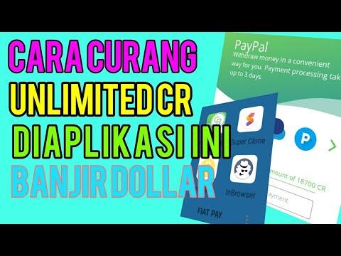 CARA NAKAL FIAT PAY - UNLIMITED CR GAK ABIS ABIS