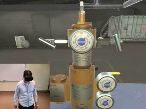 Maintenance Training - in Virtual Reality (VR) - YouTube