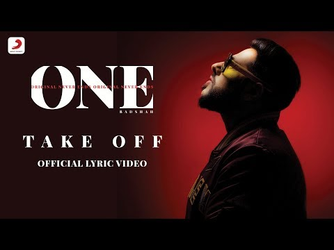 Badshah - Take Off | The Boss | ONE Album | Lyrics Video - Sony Music India