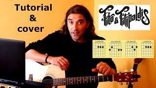 Como Tocar Soldadito Marinero FITO Cover Y Acordes Para Guitarra.