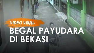 Video Viral Aksi Begal Payudara di Bekasi, Ibu Rumah Tangga Usia 38 Tahun Jadi Korban