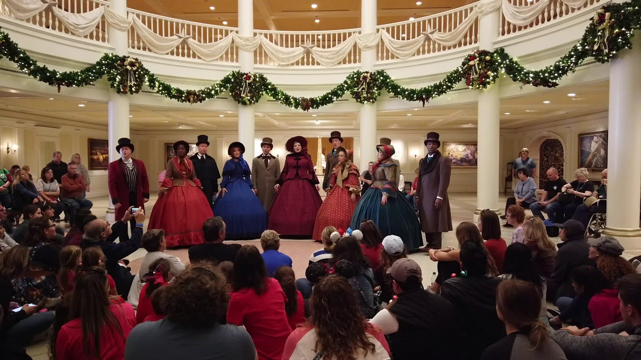 Voices of Liberty Dickens Carolers