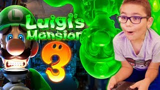 SWAN TESTE LUIGI'S MANSION 3 - NINTENDO SWITCH