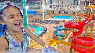 6 YEAR OLD AVA RIDES GIANT WATERSLIDES AT THE LARGEST INDOOR WATERPARK!
