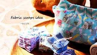 Have fabric scraps?Here's the way to use them up! |Best Christmas gift #HandyMum 【10】