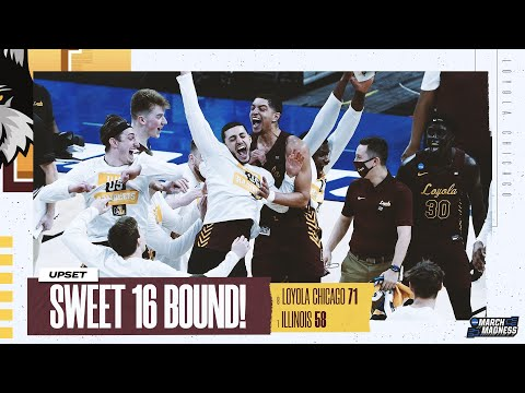 Loyola Chicago vs. Illinois – Second Round NCAA tournament extended highlights