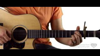 Honey Bee Blake Shelton Guitar Lesson and Tutorial