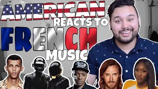 American REACTS  French Music