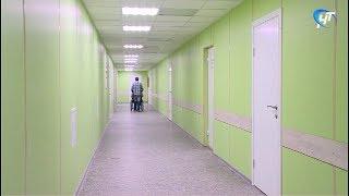 Подходят к завершению ремонтные работы в клинике № 2 на улице Яковлева