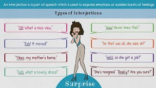 Interjections | List of 60+ Interjections and Exclamations (with Examples)