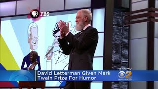 David Letterman Given Mark Twain Prize For Humor