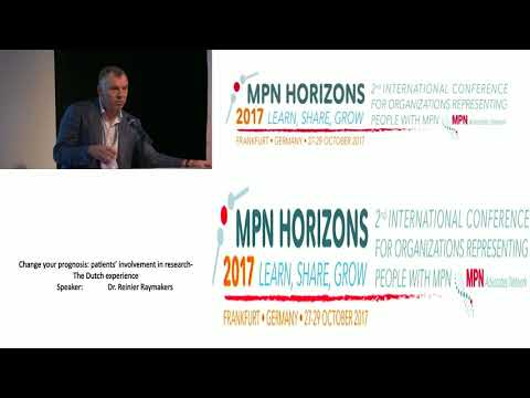 Change Your Prognosis Patients' Involvement in Research - The Dutch experience