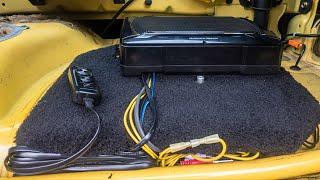 Honda S2000 Kenwood KSC-SW11 Install Ep. 04