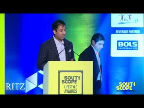 Arun Surendra at The RITZ presents SouthScope Lifestyle Awards