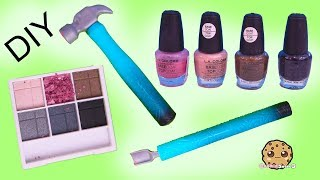 DIY Nail Polish From Eyeshadow Makeup Palette ?! Easy Do It Yourself Craft Video