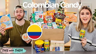 *EPIC* British People Trying Colombian Candy - This With Them
