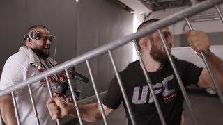 ЗА КУЛИСАМИ ОТКРЫТОЙ ТРЕНИРОВКИ #UFC 229 ХАБИБА И КОНОРА | АНАТОМИЯ БОЙЦА - ЭПИЗОД 4