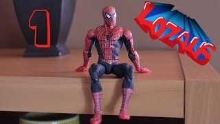 SPIDERMAN Stop Motion Action Video Part 1