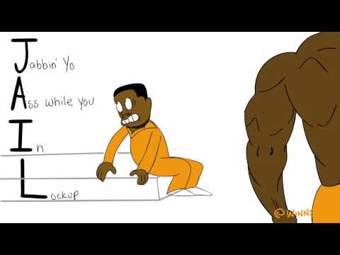 when its your first day in jail & you meet your cellmate. Animation Edition