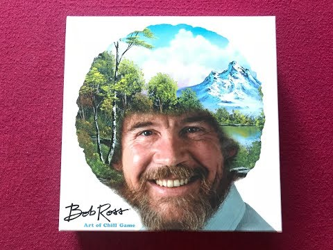 Meeples on Meeples on Bob Ross: Art of Chill
