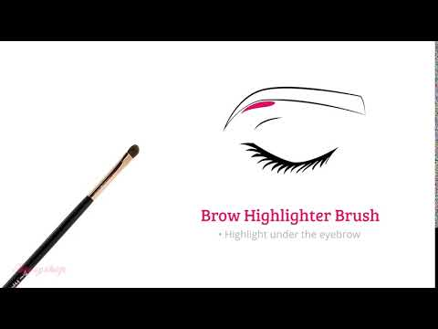 Boozyshop Boozyshop Ultimate Pro UP31 Brow Highlighter Brush