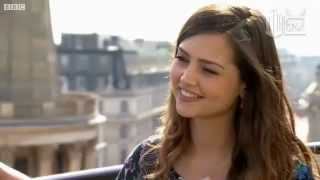 New Doctor Who Companion Jenna-Louise Coleman Interview BBC