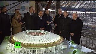 Владимир Путин обсудил с президентом ФИФА подготовку России к ЧМ-2018