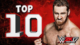 WWE 2K16: Top 10 Moves of Sami Zayn!