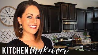 ⭐DIY Budget-Friendly Small KITCHEN MAKEOVER- How I Saved THOUSANDS!